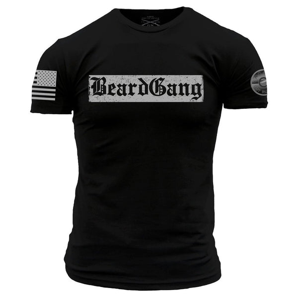 Beardgang T-Shirt- Grunt Style ACAL Men's Graphic Military Tee Shirt