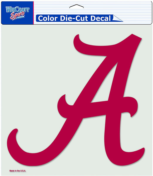 Alabama Crimson Tide NCAA Color Decal