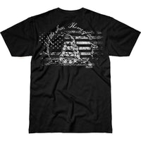 Land of the Free T-Shirt- 7.62 Design Patriotic Tee Shirt - Star Spangled LLC