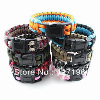 Paracord Survival Bracelet - Star Spangled 1776