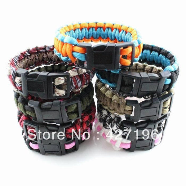 Paracord Survival Bracelet - Star Spangled LLC
