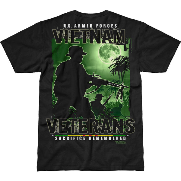 Vietnam Veterans Remembered 7.62 Design Battlespace Men's T-Shirt