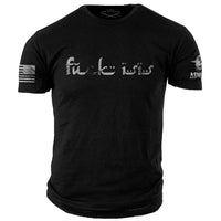 F@ck ISIS T-Shirt- ASMDSS Men's Graphic Black Tee Shirt - Star Spangled LLC