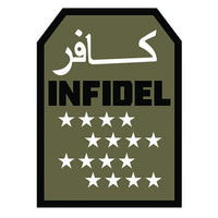 Infidel Stars Morale Hook Back Patch - Star Spangled 1776
