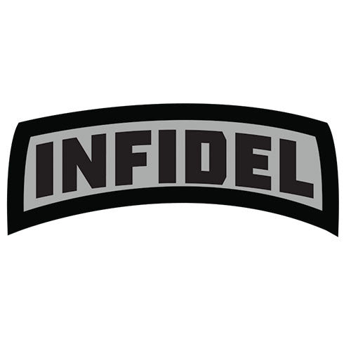 Infidel Morale Patch Hook Back Patch - Star Spangled 1776