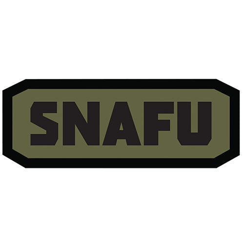 SNAFU Morale Hook Back Patch - Star Spangled 1776 - 1