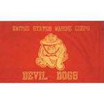 Marine Corps Devil Dog Polyester 3 X 5 Military Flag - Star Spangled 1776