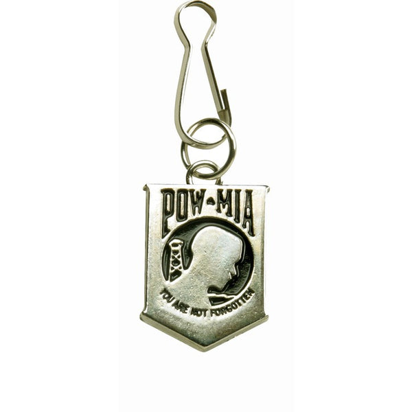 POW MIA Zipper Puller for Jackets and Vests - Star Spangled 1776