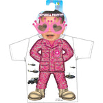 Army Pink ACU Pattern Toddler Shirt and Sunglasses Gift Pack - Star Spangled 1776