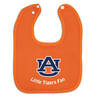 Auburn Tigers Colored Snap Baby Bib - Star Spangled 1776