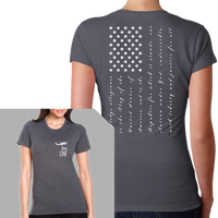 Pledge Flag T-Shirt- Nine Line Women's T-Shirt - Star Spangled 1776