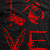 Love T-Shirt- Ranger Up Men's Black Tee Shirt - Star Spangled LLC
