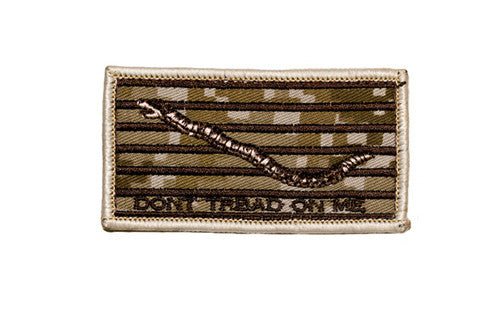 Don't Tread On Me MARPAT Hook Back Patch - Star Spangled 1776