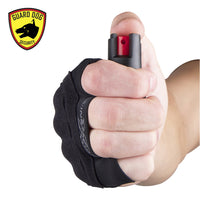 InstaFire Xtreme Pepper Spray + Knuckle Defense Activewear Hand Sleeve - Star Spangled 1776