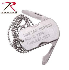 Dog Tag Stainless Steel Multi-Tool