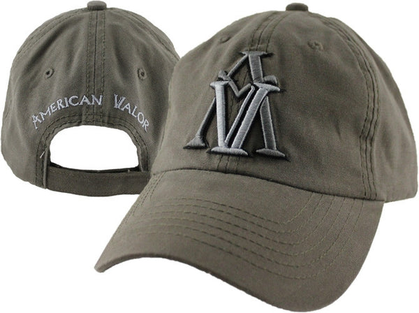 American Valor Embroidered Military Baseball Cap - Star Spangled 1776