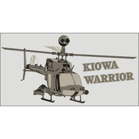 Kiowa Helicopter Decal - Star Spangled 1776
