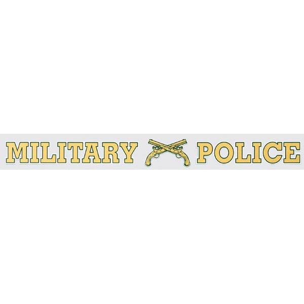 Military Police Window Strip Decal - Star Spangled 1776