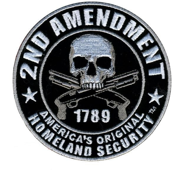 2nd Amendment Homeland Security Patch