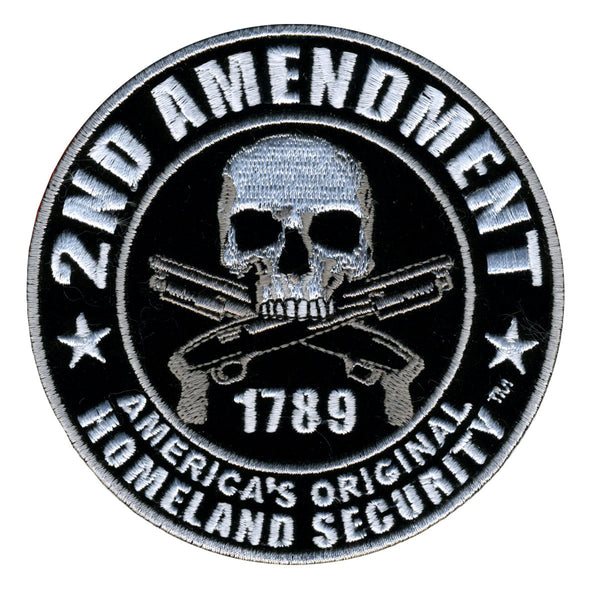 "2nd Amendment Hook Back 4"" Patch - Star Spangled 1776"