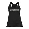 Serve No Man Tank Top Shirt- Grunt Style Women's Graphic Black Tank Top Shirt - Star Spangled 1776