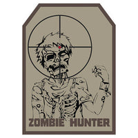 Zombie Hunter Hook Back Patch - Star Spangled 1776