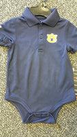Auburn Tigers Underarmour Infant Onesie - Star Spangled 1776