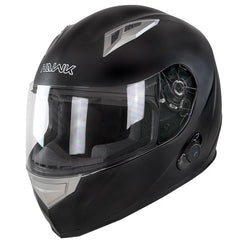 Hawk H500 Flat Black Bluetooth Helmet
