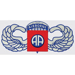 82nd Airborne Decal - Star Spangled 1776