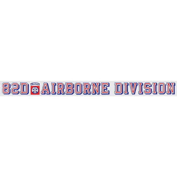 82nd Airborne Window Strip - Star Spangled 1776