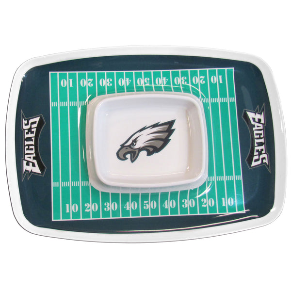 Philadelphia Eagles Chip and Dip Tray - Star Spangled 1776