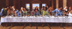 The Last Supper Lithograph Art Print (1972) by Tobey- 20 X 8