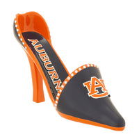 Auburn Tigers High Heel Shoe Wine Bottle Holder - Star Spangled 1776