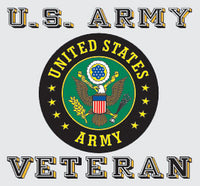 Army Veteran Decal - Star Spangled 1776