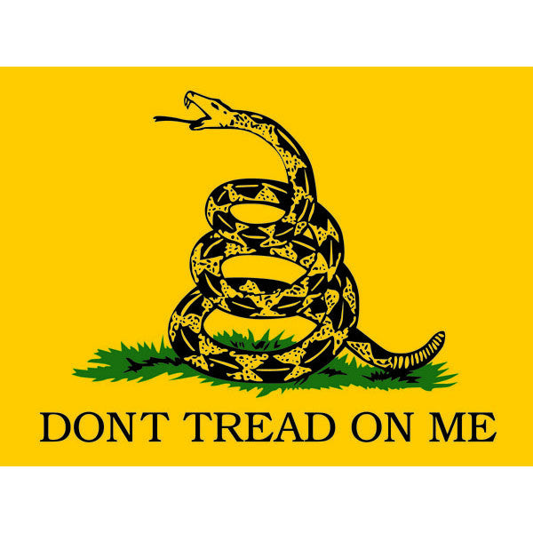 Dont Tread On Me Gadsden Decal - Star Spangled 1776