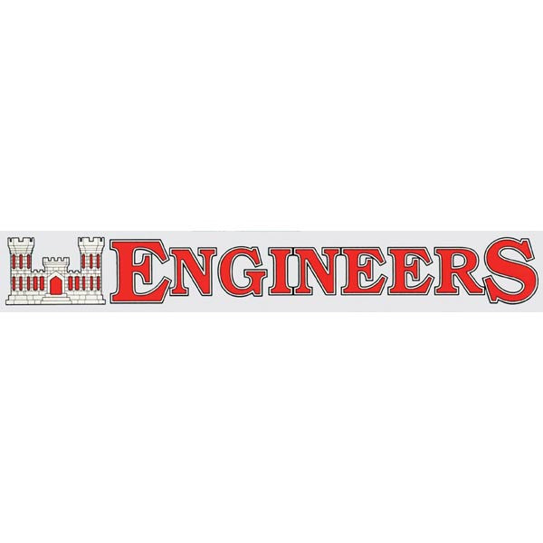 Engineers Window Strip - Star Spangled 1776
