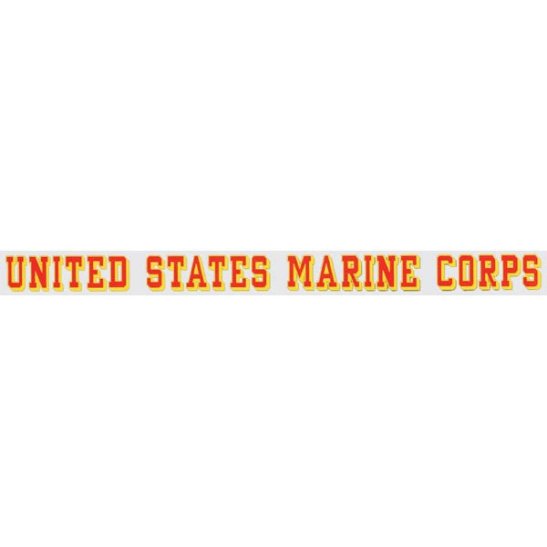 USMC Marines Window Strip - Star Spangled 1776