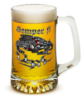 25 Ounces Tankard Semper Fi Chrome Dog Marine Corps
