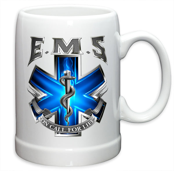 20 Ounces Stoneware EMS On Call For Life