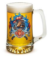 25 Ounces Tankard First In Last Out Firefighter