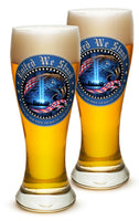 23 Ounces Pilsner Glass United We Stand
