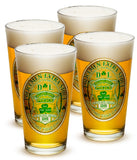 16 Ounces Pint Glass Police Irelands Finest