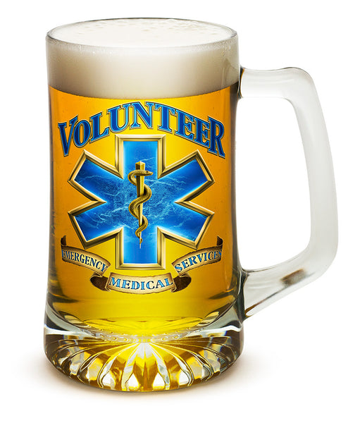 25 Ounces Tankard Volunteer EMS - Star Spangled 1776