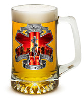 25 Ounces Tankard Tribute High Honor Red EMS