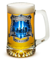 25 Ounces Tankard Tribute High Honor Police