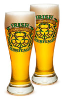 23 Ounces Pilsner Glass Firefighter Irish Heritage