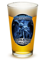 16 Ounces Pint Glass You Will Never Be Forgotten - Star Spangled 1776