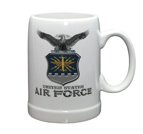 20 Ounces Stoneware AIR FORCE USAF Missile - Star Spangled 1776