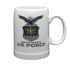 20 Ounces Stoneware AIR FORCE USAF Missile