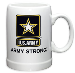 20 Ounces Stoneware  Army Star Logo